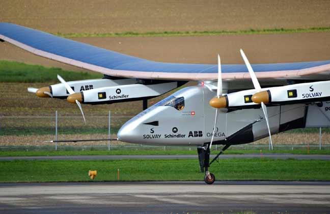 طائرة سولار إمبولس 2 تحقق رقما قياسيا عالميا