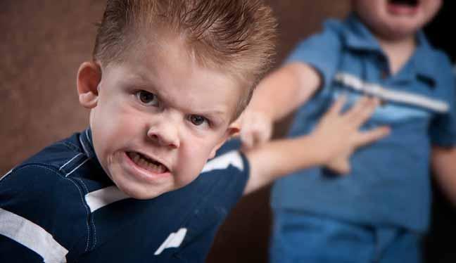 لماذا يصبح الأطفال عدوانيين؟