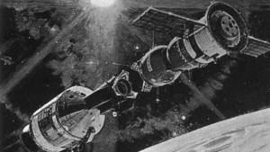 التحام سويوز وابولو في الفضاء