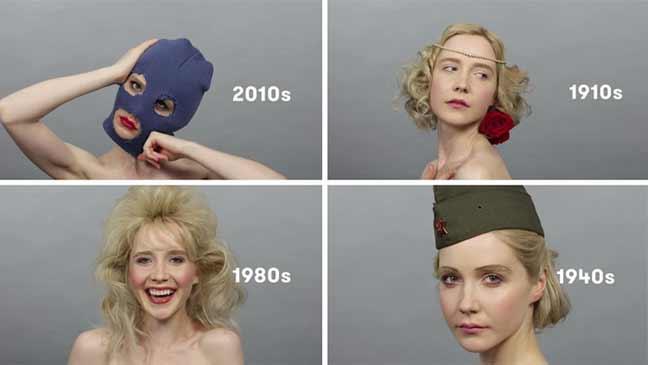 مقطع فيديو واحد يتسع لـ 100 عام لجمال الفتيات الروسيات