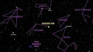 علماء الفلك يكتشفون نجما تعادل إضاءته إضاءة 572 مليار شمس