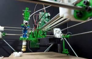 تصميم طابعة ثلاثية الأبعاد تعمل بالزجاج المصهور