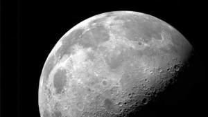 اكتشاف غاز النيون في جو القمر