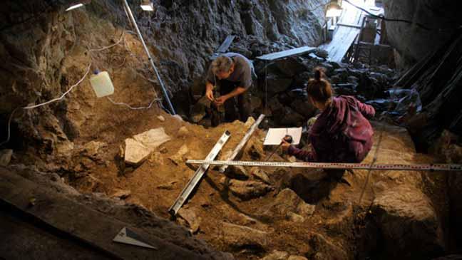 اكتشاف رفاة بشرية عمرها 50 ألف سنة