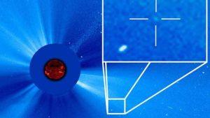 مركبة SOHO الفضائية تكتشف مذنبها رقم 3000 في رحلتها حول الشمس