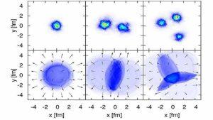 اكتشاف حالة لمادة كانت موجودة في بداية تشكل الكون