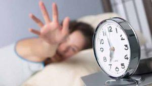التحول الى التوقيت الصيفي يسبب قلة ساعات النوم