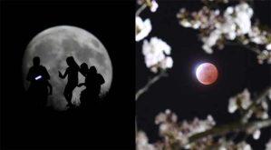 لأول مرة منذ 30 عاما.. القمر العملاق والخسوف الكُلي في ليلة واحدة