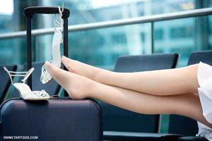 كيف تحافظين على قدميك من التشقق
