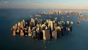 التغير المناخي سيغرق نيويورك ولندن