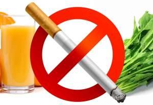 قواعد غذائية تساعد على تقليل ضرر التدخين