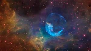 ناسا تعرض صورة لفقاعة عملاقة