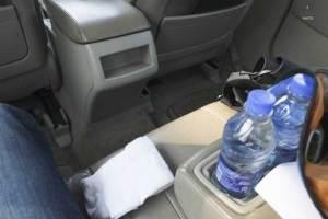 لا تترك قنينة المياه في السيارة لانها قد تسبب كارثة