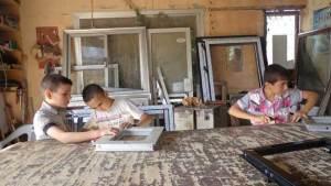 أطفال الحرب في سورية