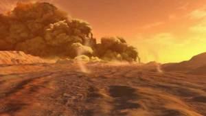 إعداد أول خارطة للعواصف الرملية على سطح المريخ