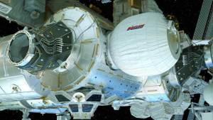 أول زيارة للوحدة التلسكوبية في المحطة الفضائية الدولية