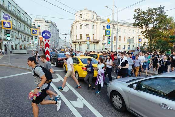 البوكيمون يجتاح موسكو