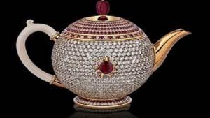 أغلى إبريق شاي في العالم بـ 3 ملايين دولار