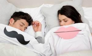 نوم الرجال يختلف عن النساء