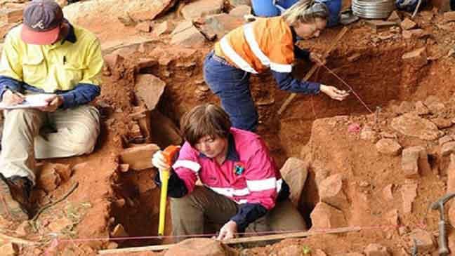 علماء يكتشفون آثارا تعود إلى العصر الجليدي