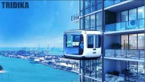 غرف مباني المستقبل تتحول إلى سيارات ذاتية