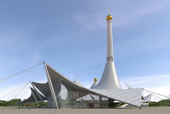 معبد للقديسة كاترين