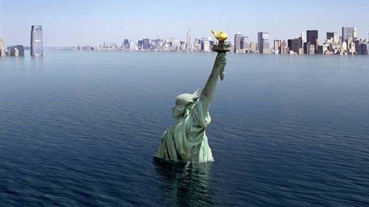 كارثة طبيعية قد تمحو نيويورك