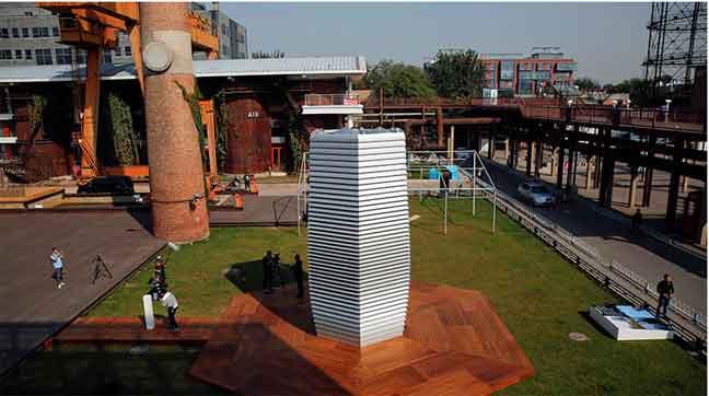 الهولنديون يصممون فلترا عملاقا لتنقية الهواء الخارجي