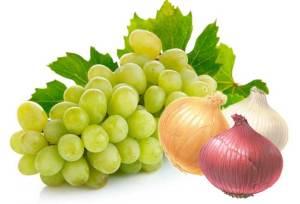 البصل والعنب لمكافحة الأنفلونزا