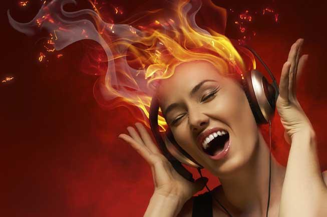 الموسيقى الصاخبة تضعف سمعك