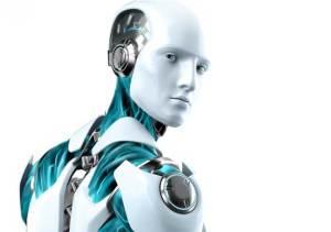 روبوت يعتدي على إنسان