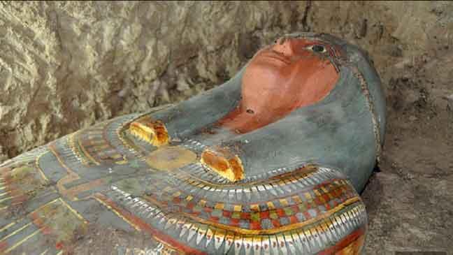 اكتشاف مومياء جديدة عمرها 3 آلاف عام في الأقصر