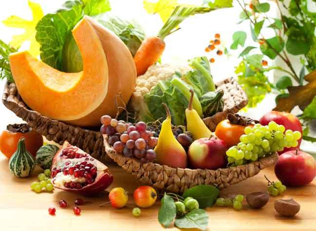 أهمية الخضروات والفاكهة