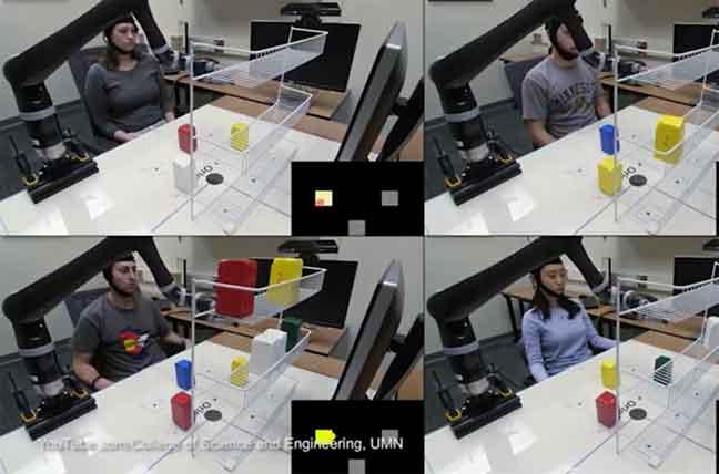 """تقنية جديدة تتيح التحكم بالروبوت بـ""""الأفكار"""""""