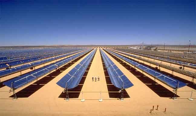 الطاقة الشمسية في دول العالم