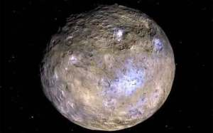 العثور على الماء في كوكب سيريس