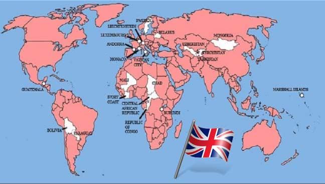 اثنان وعشرون دولة فقط في العالم لم تغزُها بريطانيا