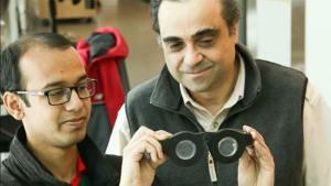 نظارة ذكية تتكيف مع ما ينظر إليه مرتديها