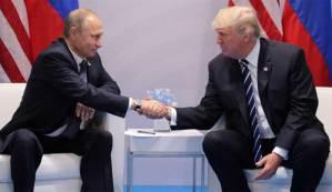 اجتماع الرئيس الروسي والأمريكي
