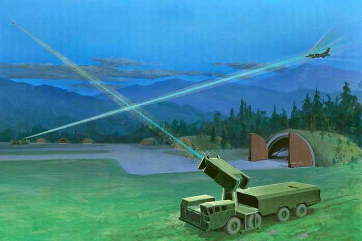 روسيا تصمم ليزرا سائلا مضادا للطائرات
