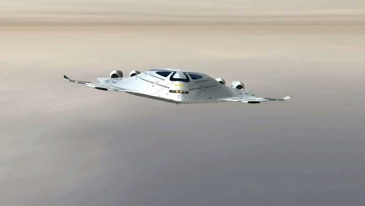 أول طائرة تعمل بالطاقة النووية في العالم