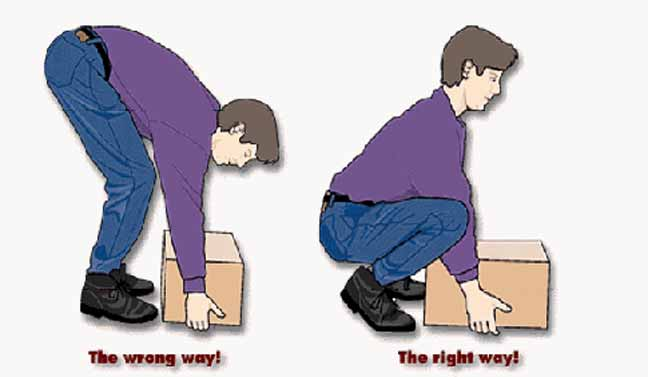 كيفية الرفع بصورة صحيحة