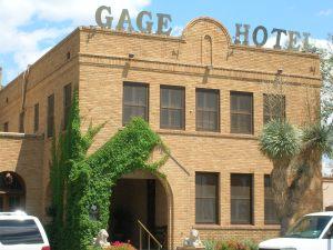 Gage Hotel. Marathon.