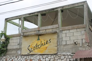 The popular Scotchies on the road from Montego Bay