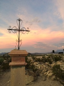 Terlingua Sunset over the Cemetery