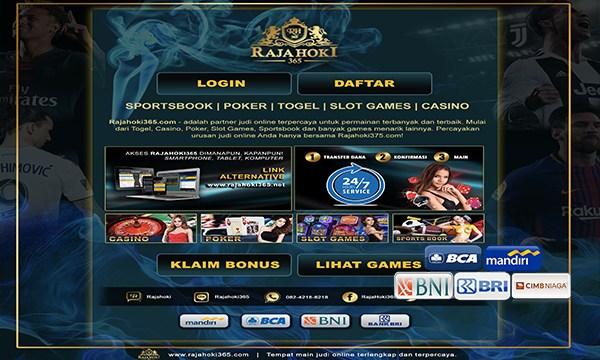 Situs Daftar Judi Online Terpercaya RajaHoki365