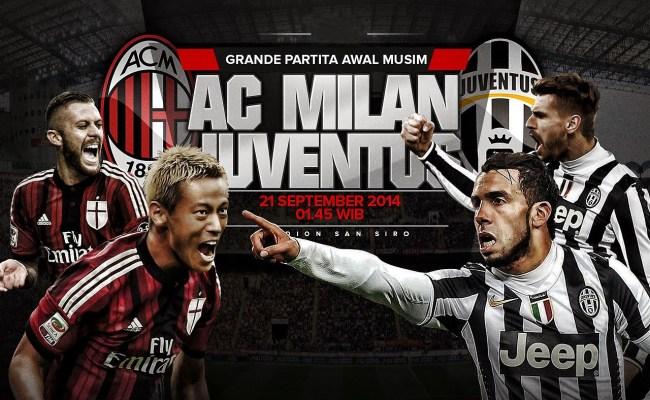 Preview Ac Milan Vs Juventus Taruhan Online
