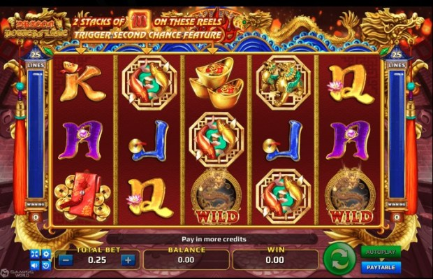 Situs Judi Slot Dragon Power Flame Welcome Bonus