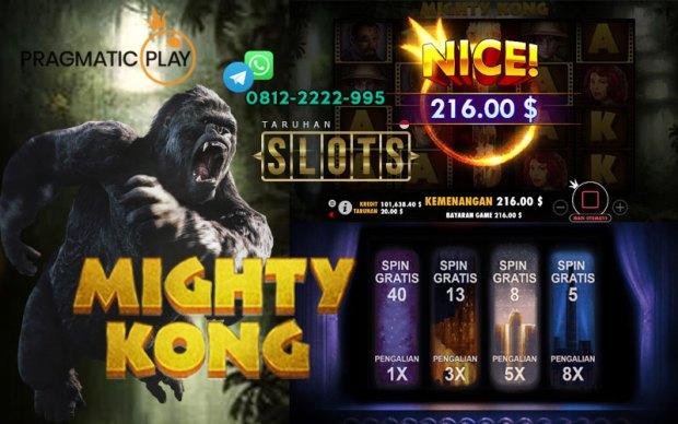 Cara Menang Slot Online Dari Mesin Mighty Kong