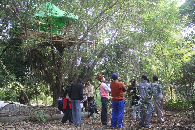 Teachers from Western Uttar Pradesh congregated for an Art Camp (2/5)